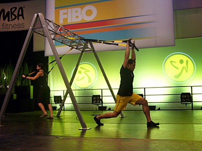 Suspension Training mit TRX, Fibo 2011